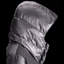 Load image into Gallery viewer, Sleeping Bag Coat - Black Wool