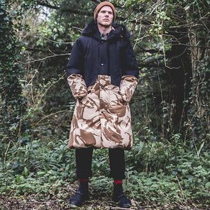 Eden Down Sleeping Bag Coat - Desert DPM & Black Sympatex