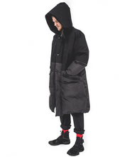 Load image into Gallery viewer, Eden Sleeping Bag Coat - Black Sympatex