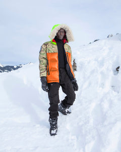 MK2 Reversible Atlantic Parka Orange / British DPM