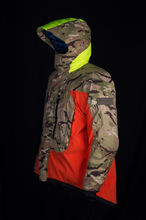 Load image into Gallery viewer, Reversible Base Camp Parka - Orange / British DPM