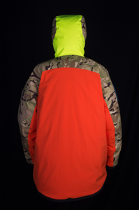 Reversible Base Camp Parka - Orange / British DPM