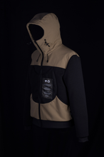 Load image into Gallery viewer, Black Reversible Hooded Jogger