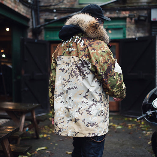 The Hartland Technical Camouflage Smock