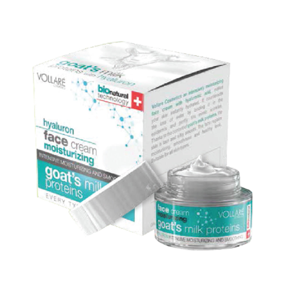 Vollare face cream moisturising & instant hydration