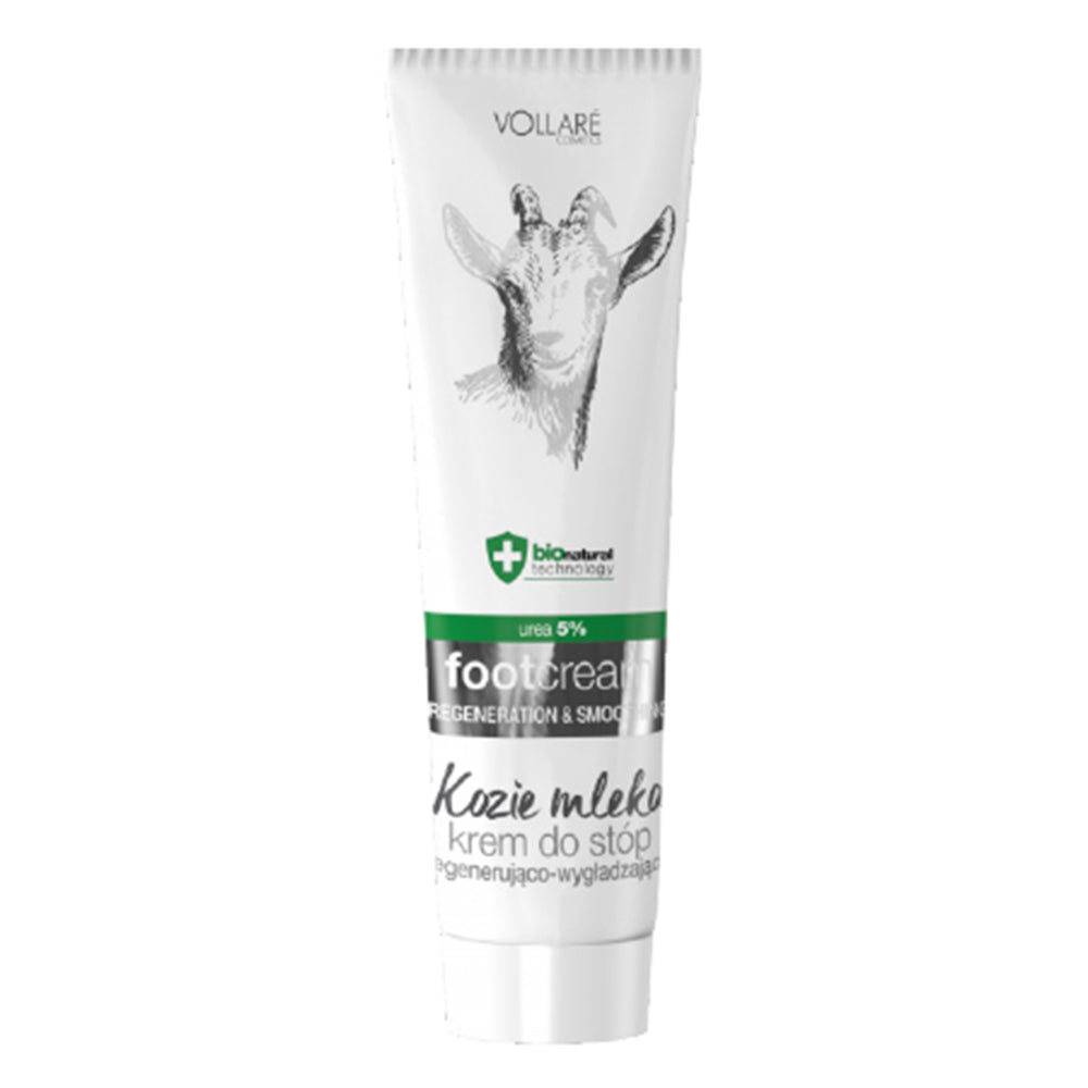 Vollare regenerating smoothing foot cream