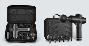 Comes with a beautifully designed carrying case so you can take your massager anywhere you go.