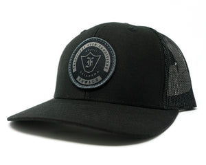 BADGE 112 TRUCKER - BLACK