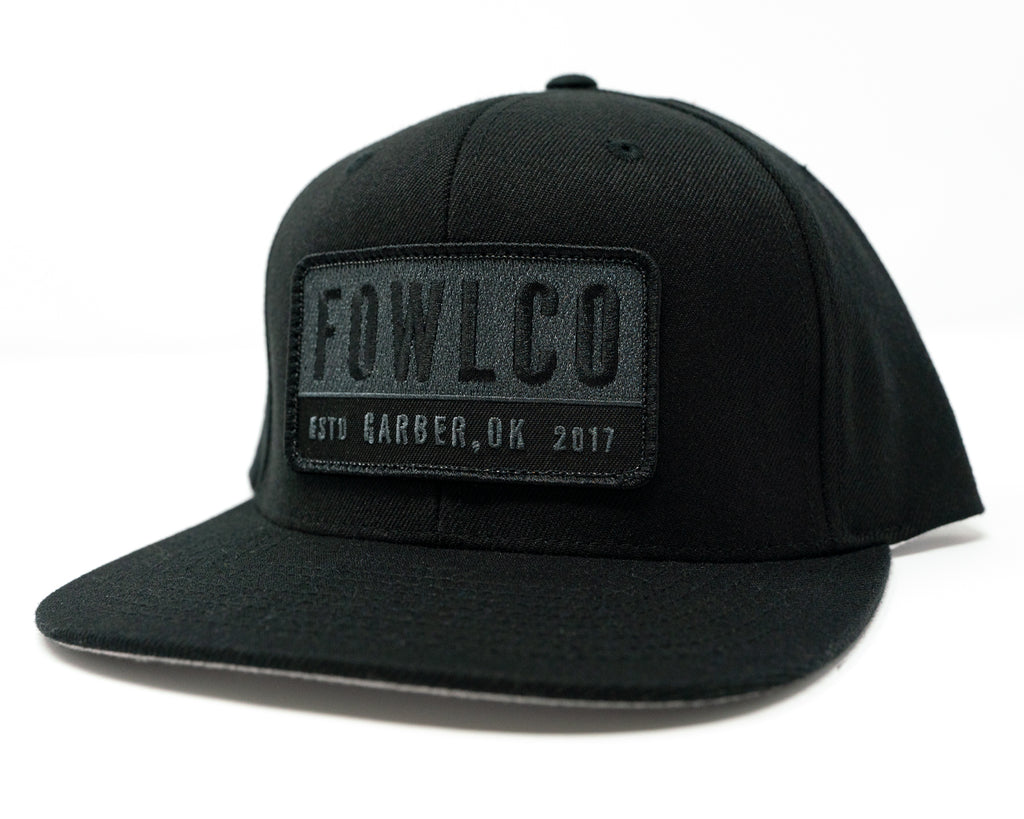 PATCH 510 FLATBILL - BLACK