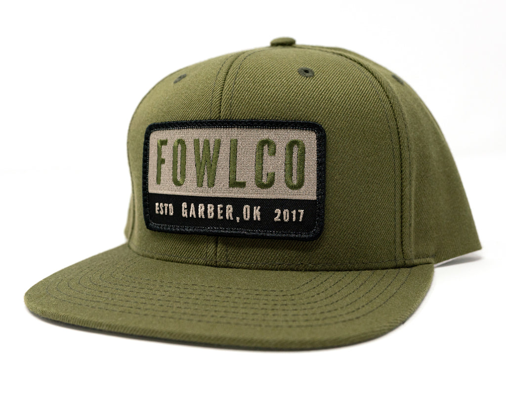 PATCH 510 FLATBILL - OLIVE