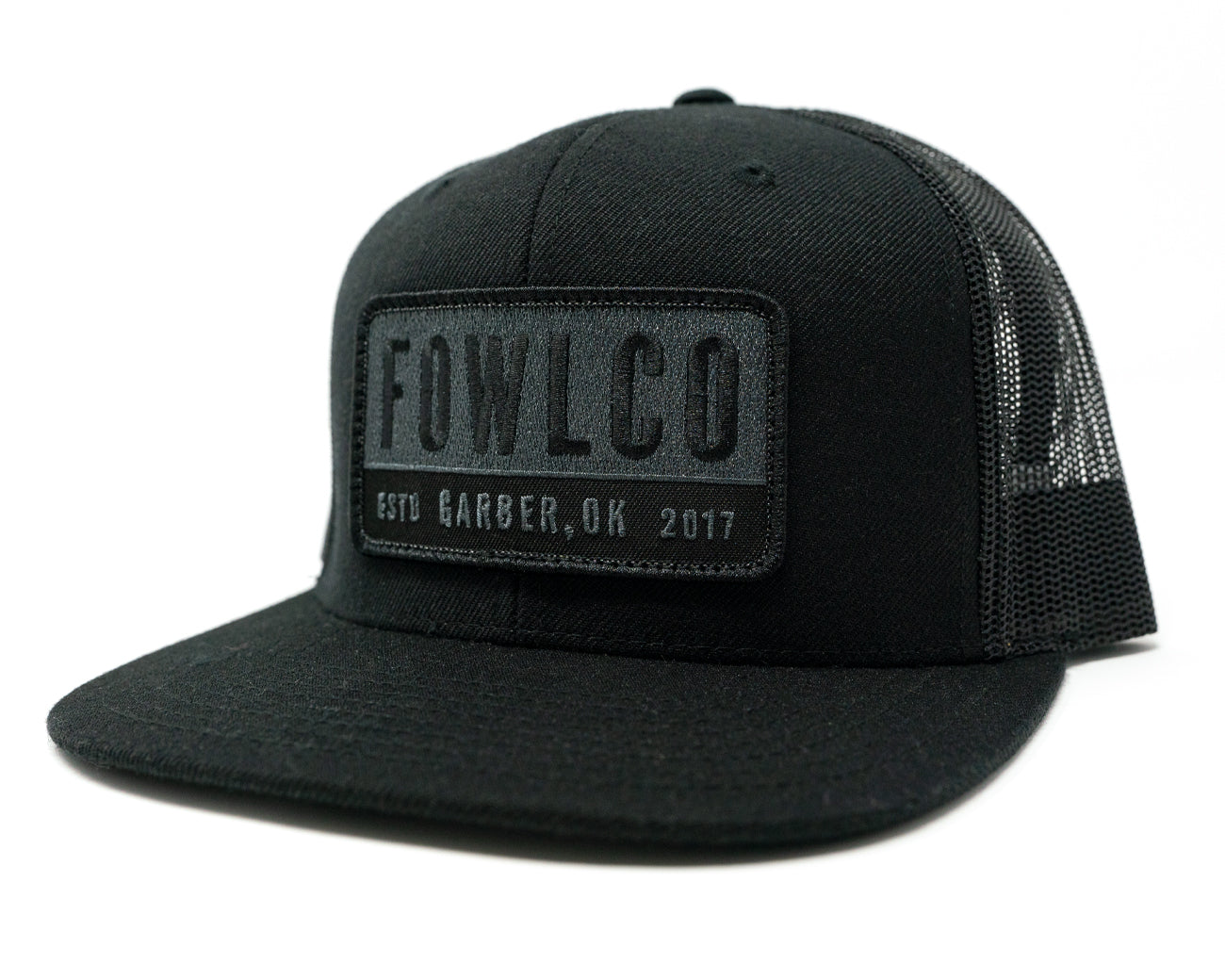 PATCH 511 TRUCKER - BLACK