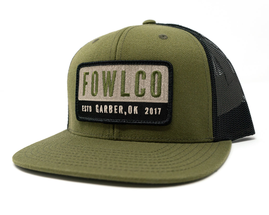 PATCH 511 TRUCKER - OLIVE/OLIVE