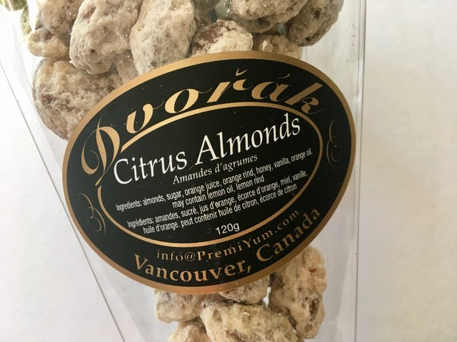 Citrus Almonds.