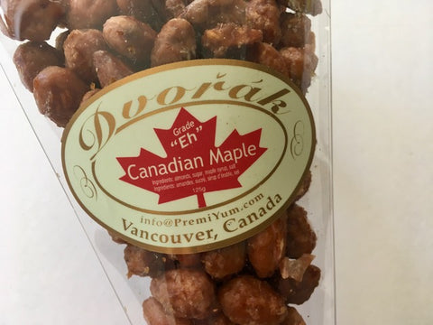 Maple Almonds.