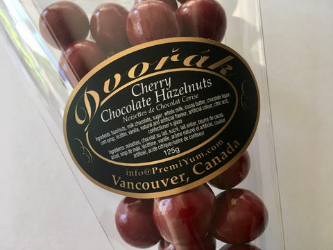Cherry chocolate Hazelnuts.