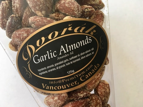 Garlic Almonds.