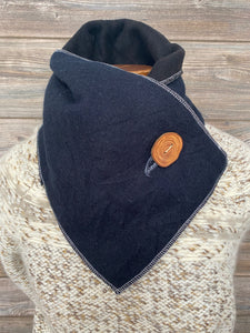 Deep Dark Blue Neckwarmer
