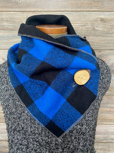 Masculine Checkered Neckwarmer