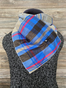 Grey Clouds over Blue Sky Neckwarmer