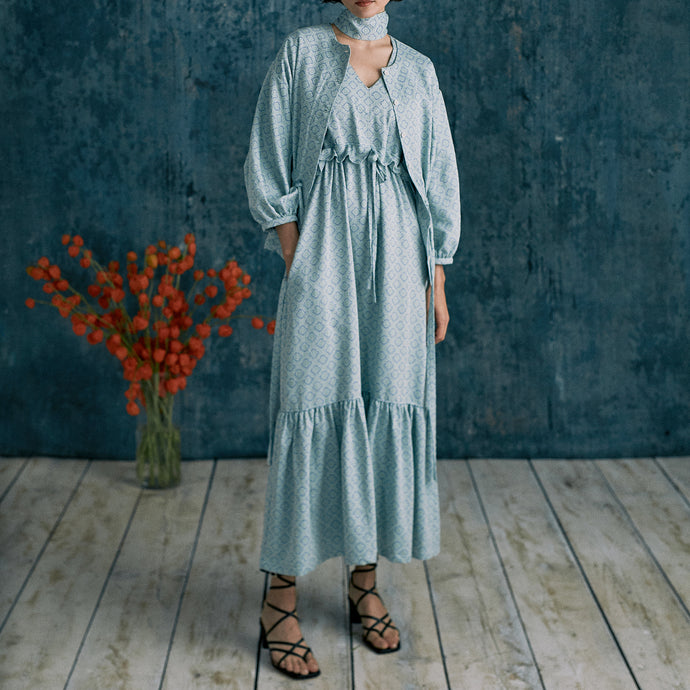 Sustainable Spring Dresses for 2021 - Country & Town House features our Spring Long Tier Dress