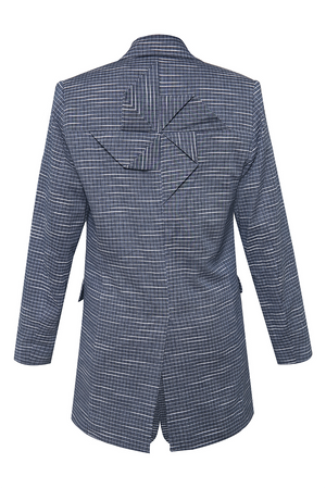 Pin Wheel Suit Jacket  in Modern Weave