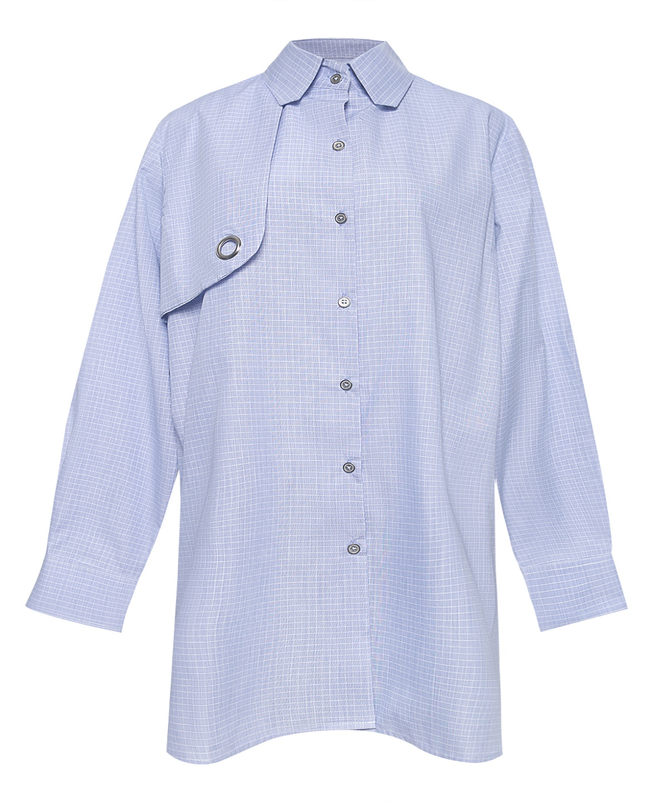 Right Front Panel Cotton Pin Wheel Shirt