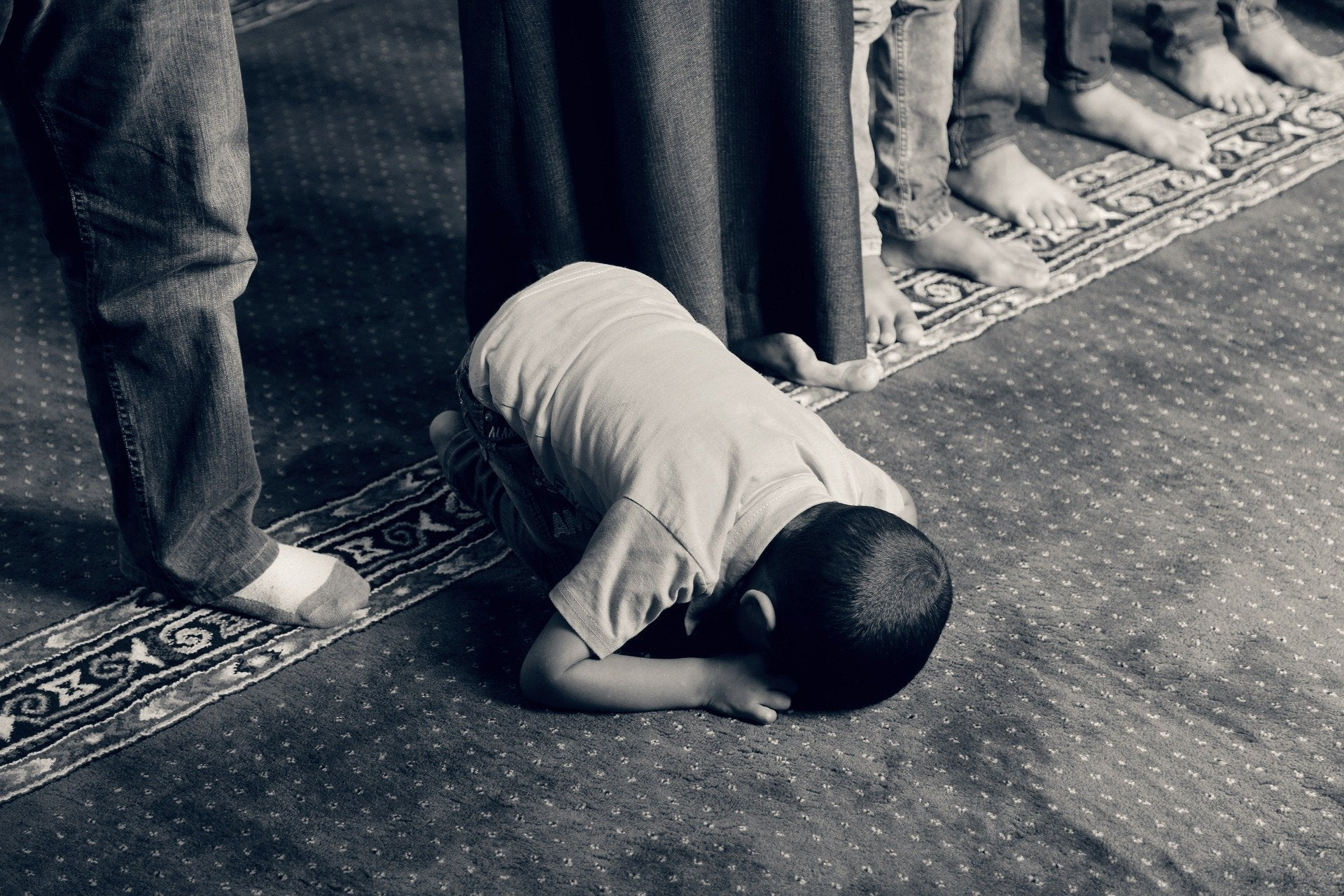 Dream of Snake in Islam during a Prayer