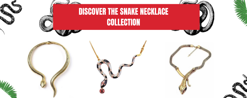 snake necklace collection