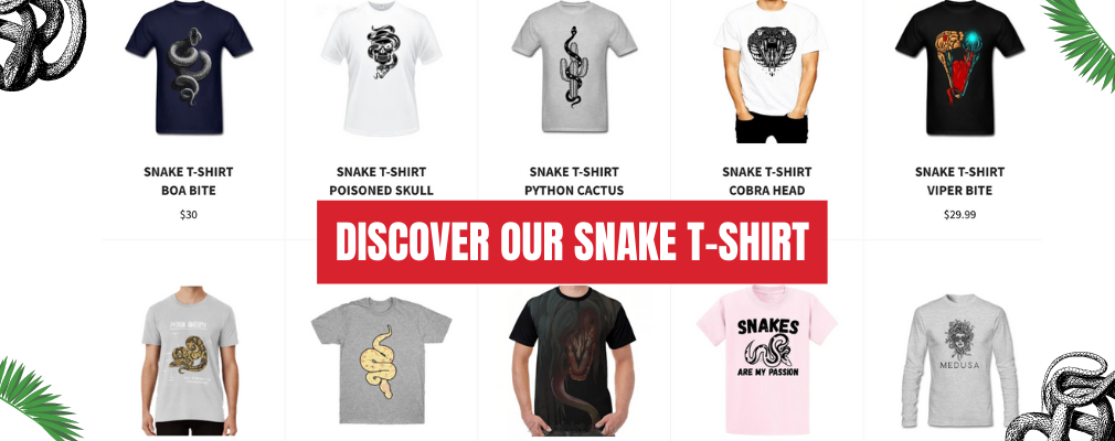 snake t shirt collection