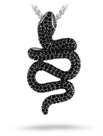 Snake necklace - Black Mamba - The Vipers House