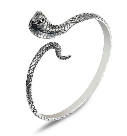 Snake bracelet <br> Royal Cobra (silver) - The Vipers House