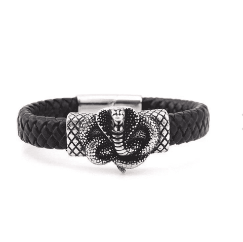 Snake Bracelet <br> Savage Man (leather)