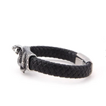 Snake Bracelet <br> Savage Man (leather) - The Vipers House