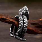 Snake Ring <br> Thai Cobra (steel)
