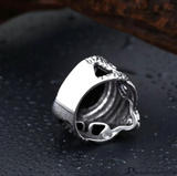 Snake Ring <br> Cobra (steel)