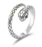 Snake Ring Refined Worm
