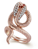 Snake Ring Cobra Woman
