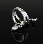 Snake Ring <br> Slytherin (steel)