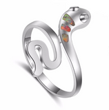 ladies snake ring