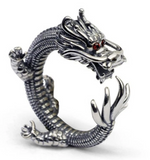 snake ring dragon