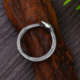 stainless steel ouroboros jewelry the vipers house