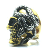 Snake Ring Golden Gangster