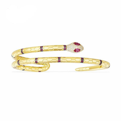 Snake bracelet - Gold Women - The Vipers House