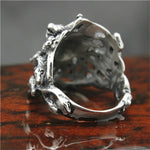 Snake Ring <br> Medusa Jewelry (Steel)