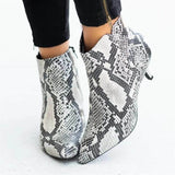 Snakeskin Shoes <br> Woman Scaler