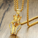 Gold Cobra Necklace (Gold)
