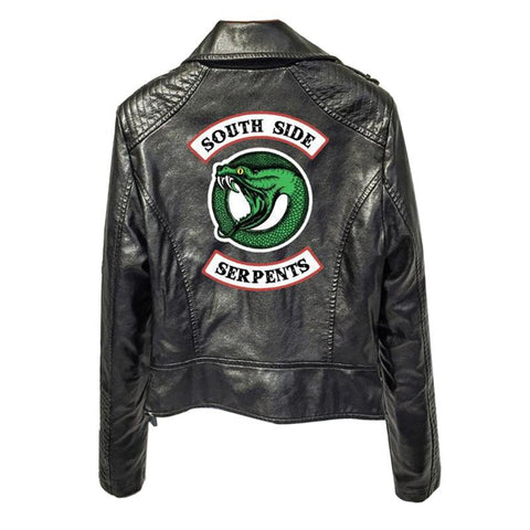 Snake Jacket <br> South Side Serpents Black - The Vipers House