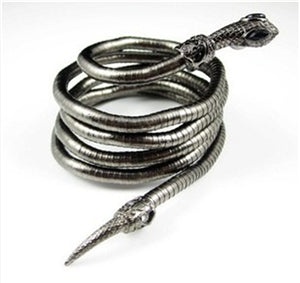 Snake Bracelet - Dark steel - The Vipers House