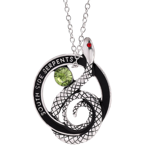 south side serpent necklace