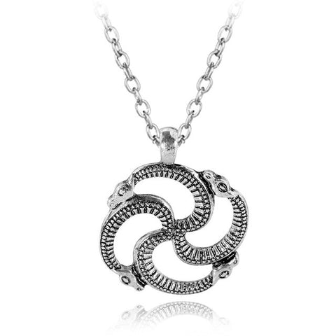snake necklace greek mythology - The Vipers House